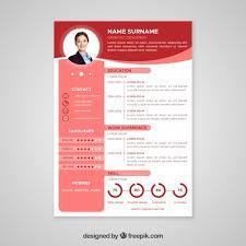 Curriculim Vitae Professional Curriculum Vitae Template Vector Free Download