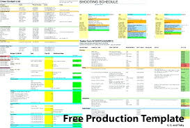 Film Production Calendar Template Film Production Calendar Template Schedule Free Templates Pre For