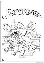 Small Picture Superman Coloring Pages Printable 23