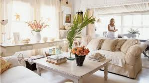 cottage living rooms. Lacy Curtains, Fresh Florals, And Plenty Of Monogrammed Pillows Are Just A Few Cottage Living Rooms H