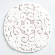 circle bath rug one of my favorite discoveries at blush round medallion tufted bath mat black circle bath rug