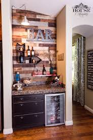 Wine Bar Pallet Wall Bar Modern Contemporary Industrial