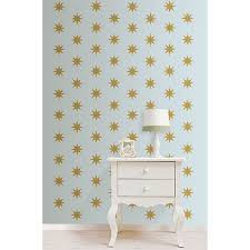 hover to zoom on gold stars wall art with gold star minipops star wall decals