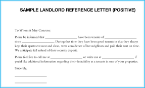 Letter Of Recommendation Tenant Landlord Reference Letter 5 Samples What Is It How To Write It
