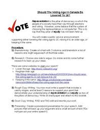 Lowered The Be In Voting Age By Should Lepagemiddlehumanities Canada 16 To