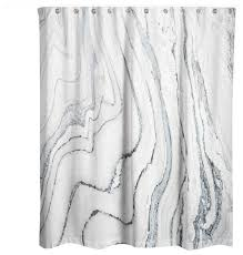 gray and blue shower curtain. blue marble shower curtain contemporary-shower-curtains gray and