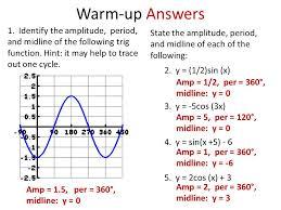 3 warm up