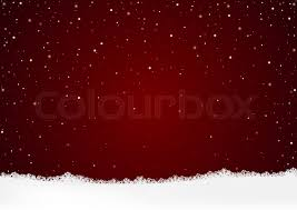 red snow christmas background. Unique Snow Christmas Background And White Snow With Falling Colorful Flakes   Illustration Vector  Stock Colourbox Intended Red C