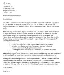 Journalism Internship Cover Letter 66 Cover Letter Samples And Correct Format To Write It