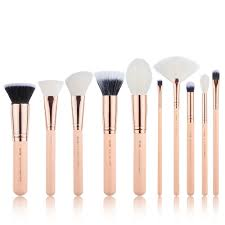 details about new best makeup brushes set sweep foundation blush powder lip cosmetic 10pcs kit