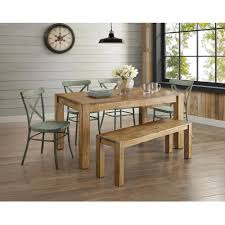 Rustic kitchen table with bench Pinterest Full Size Of Dining Benches Dining Room Sets With Bench Farm Wood Kitchen Table Wooden Kitchen Gingiiinfo Dining Benches Small Rustic Kitchen Table Dining Table Set