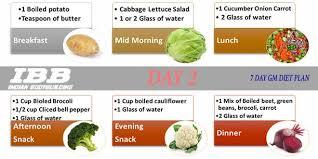 7 Days Gm Diet The Best Indian Vegetarian Diet To Lose