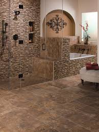 ... Ceramic Tile Bathroom Floor Tiling Bathroom Floor Preparation Chair  Pillow Door Glass Wall Flower ...