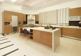 image of solid glass kitchen cabinet doors