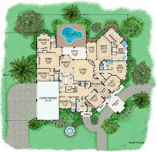 European Style House Plans   7670 Square Foot Home , 2 Story, 5 Bedroom And  6 Bath, 4 Garage Stalls By Monster House Plans   Plan By Juliette