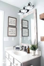 half bathroom ideas gray. Unique Gray Lovely 1 2 Bath Decorating Ideas Bathroom Best Half Decor  On Fancy Inspiration Wall For Bathrooms  Throughout Gray R