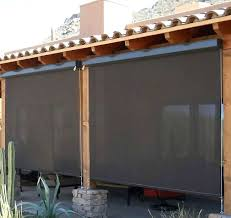 simple roll down patio shades from remarkable outdoor drop pull