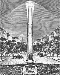 arclight lighting. Arc Light Tower Design That Never Made It Arclight Lighting Low Tech Magazine