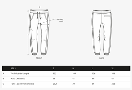 Hang Ten Size Chart Sizechart Hangten Icon Pant Free Transparent Png Download