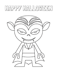 Here's a spooky halloween graveyard colouring (coloring) page for kids to print and colour. Halloween Coloring Pages Free Printable Be Plum Crazy