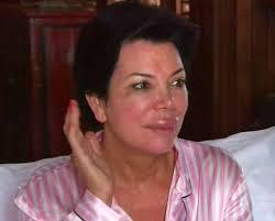 kris jenner without makeup
