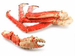 cooked wild king crab legs