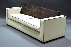 sofa with piping lot of a modern cream upholstered sofa suite comprising a triple sofa and sofa with piping