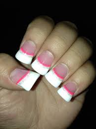 solar nails pink