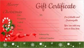 Holiday Gift Certificates 28 Holiday Gift Certificate Templates Psd Word Ai