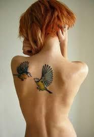 birds shoulder blade tattoo. Beautiful Tattoo Shoulder Blade Tattoo Birds For Tattoo T