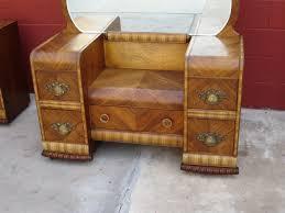 vintage art deco furniture. american vanity dresser art deco waterfall bedroom furniture with antique vintage s