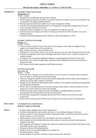 Event Manager Resume Examples Events Manager Resume Samples Velvet Jobs 16