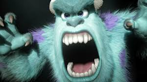 monster inc sulley roar. Wonderful Inc With Monster Inc Sulley Roar A