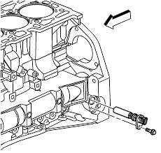 Remove the crakshaft position sensor