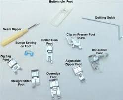 Presser Feet Identification Chart Brother Sewing Machines