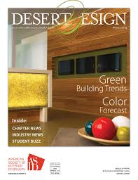 Desert Design Magazine Winter 2013 by Arizona North Chapter of ASID - issuu