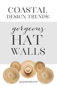 straw hat wall decor trend 5 inspiring