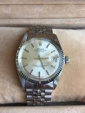mens rolex watches rolex watches for rolex mens silver dial datejust oyster perpetual 18k white gold and steel watch