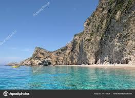 Liapades Corfu Greece May 2018 Boat Front Paradise Beach Part – Stock  Editorial Photo © lcrms7 #207315808