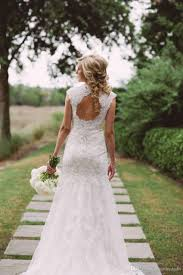Plus Size Modest Wedding Dress  PlusLookeu CollectionVintage Country Style Wedding Dresses