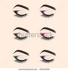 eyelash clipart eyes shut pencil and in color eyelash clipart