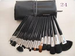 24 piece mac makeup brush set with leather pouch set kit mac makeup brushes amazon keywords suggestions long l mac makeup uk