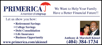 Primerica Financial Christians In Business Primerica Financial Services Anthony