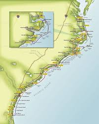 Intracoastal Waterway Mileage Chart Intracoastal Waterway Map Sc Intracoastal Waterway