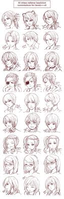 Hair Style Anime best 25 anime hairstyles ideas manga hair manga 6086 by wearticles.com