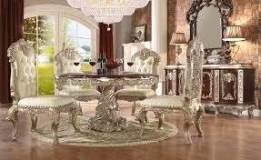 h8017 antique white finish dining set homey design victorian european classic design
