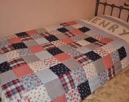 Baby Bedding Grey Cot Bedding Grey Nursery Bedding Grey & Patchwork Quilt, Personalised Patchwork Quilt, Single Bed Patchwork Quilt, Patchwork  Nautical Quilt, Adamdwight.com