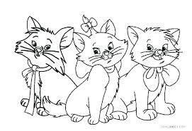 Cat Coloring Pages For Adults Printable Cat Coloring Pages To Print
