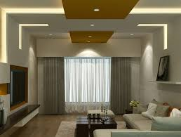 simple false ceiling designs for living room with fan design and