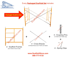 quantity s looking for 200 packaged scaffold frame sets please call for a quantity
